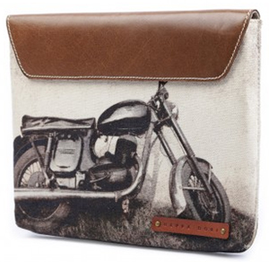 Nappa Dori iPad Case - Bike: US$100.