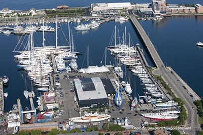 Newport Shipyard & Marina, 1 Washington St, Newport, RI 02840.