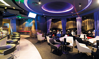 Noir Lounge & Club, Melia Doha, District Zone 61, Diplomatic Area West Bay, 21336 Doha.