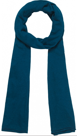 Orlebar Brown Denim Pigment Large Cotton Silk Blend Men's Scarf: £95.
