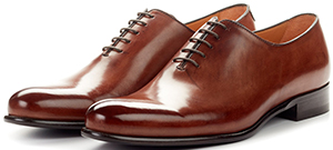 Paul Evans The Martin Wholecut - Marrone men's shoes: US$399.