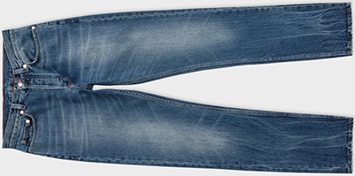 Paul Smith Men's Light Blue Vintage-Wash Jeans: €365.