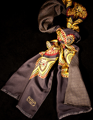 Penrose London men's scarf.