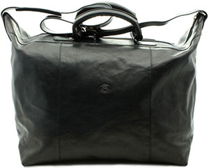 Tony Perotti Unisex Italian Bull Leather Weekend Carryon Getaway Travel Duffle Tote Bag: US$350.
