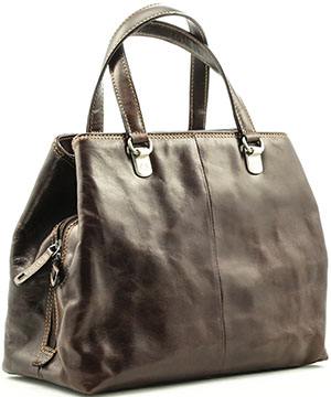 Tony Perotti Women's Italian Bull Leather Executive Business Ladies Handbag: US$250.