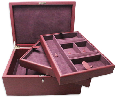 Pickett Classic Large Lockable Jewellery Box: £995.