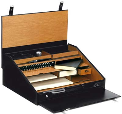 Pineider 1949 Leather Travel Writing Desk Set: US$4,480.