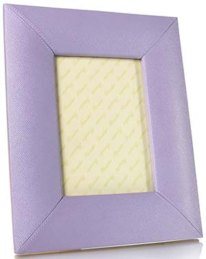 Pineider City Chic - Calfskin Large Picture Frame: US$585.