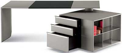 Poltrona Frau C.E.O. Cube Desk.