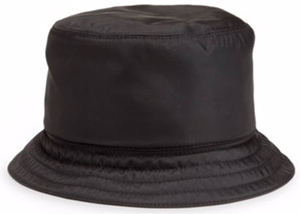 Prada men's Nylon Bucket Hat.