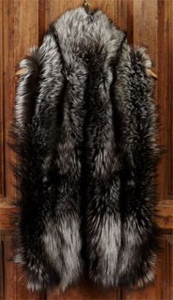 Purdey Ladies' Fur High Collar Stole: £2,395.