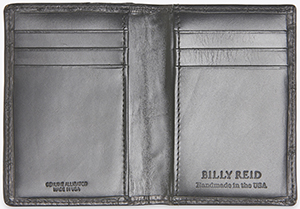 Billy Reid Alligator Card Wallet: US$325.