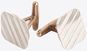 Billy Reid Square Cufflinks: US$195.