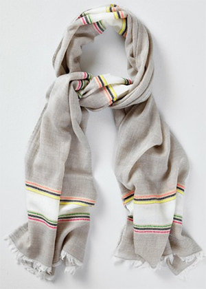 Richard James Multi-Colour men's scarf: £195.