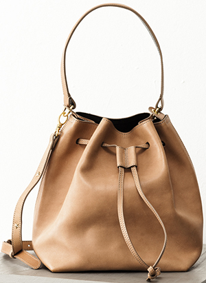 Rika Bucket bag: €550.