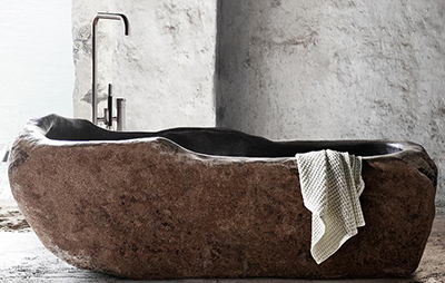 Riverstone bathtub.