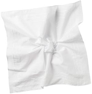 Roderick Charles men's cotton handkerchief: £3.50.