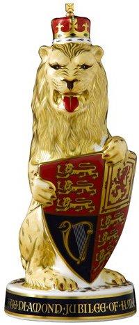 Royal Crown Derby Prestige Lion of England Paperweight - Limited Edition of 250: £995.