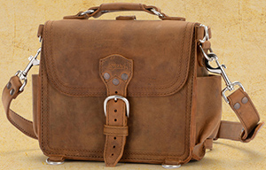 Saddleback Leather Company Satchel.