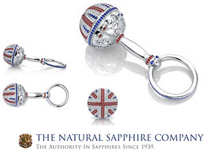 The Natural Sapphire Company - 'Our $45,000 Baby Rattle Presented To The Princess Charlotte!'