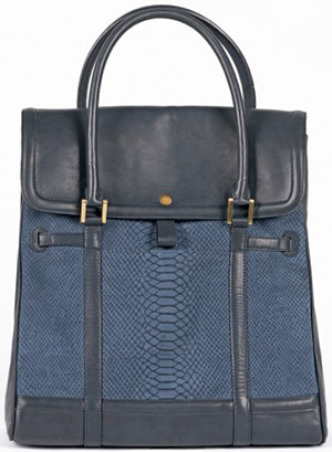 Self-Made Bags Modern leather tote bag for men: US$599.