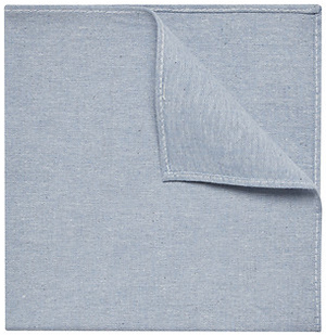 Ben Sherman Chambray Pocket Square: US$34.95.