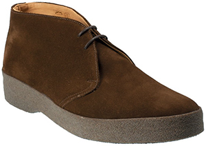 Shipton & Heneage Men's Snuff Brown Suede Hi-Top Chukka Boot: £190.