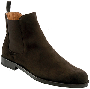 Shipton & Heneage Ladies Chocolate Suede Chelsea Boot: £145.