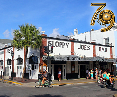 Sloppy Joe's Bar, 201 Duval Street, Key West, FL 33040.