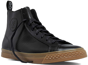 Todd Snyder Perforated Rambler High in Black shoe: US$159.