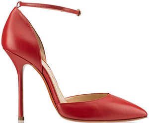 Soebedar Dona Pump - Red Kid Leather: €475.