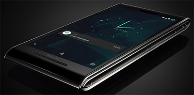 Solarin Android smart phone: US$17,000.