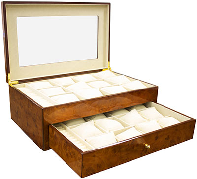 Steinhausen watch display box: US$430.