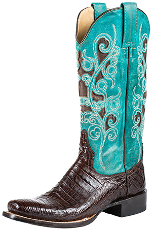Stetson Alia Women's Cowboy Boot - Narrow Square Toe: US$805.