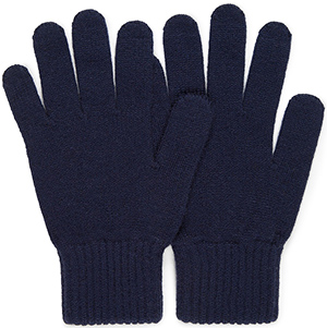Sunspel Men's Cashmere Gloves in Navy: £50.