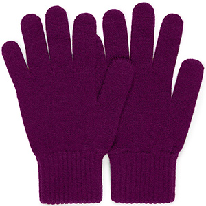 Sunspel Women's Cashmere Gloves in Reed: £50.