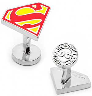 CuffLinks.com Superman 3-Piece Gift Set: US$120.
