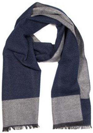 Tailor4Less men's George scarf: US$49.