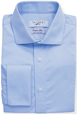 Tailorist Albini Light Blue Dobby men's shirt: US$149.