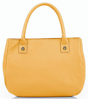 Talbots Top-Handle Satchel: US$159.