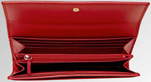 T.Anthony women's Luxe Leather Continental Wallet: US$275.