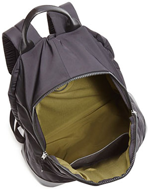 Theory men's Fuel Canvas Backpack.