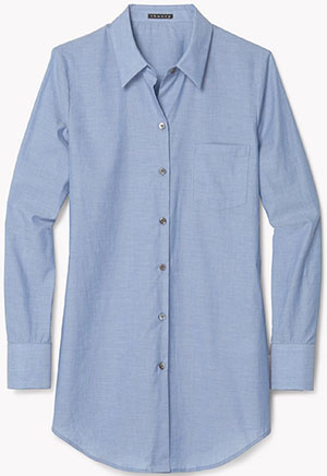 Theory women's Cotton Melange Shirt: US$245.