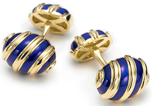 Tiffany & Co. Jean Schlumberger Olive Cufflinks: US$3,650.