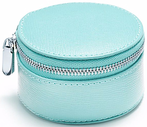 Tiffany & Co. Zip Jewelry Case.