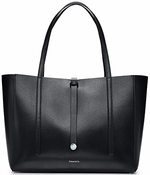 Tiffany & Co. Black Tote.