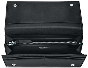 Tiffany & Co. Continental Women's Continental Flap Wallet.