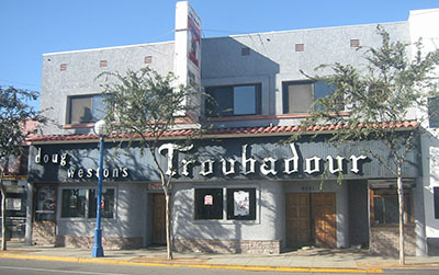 Troubadour, 9081 Santa Monica Blvd, West Hollywood, CA 90069.