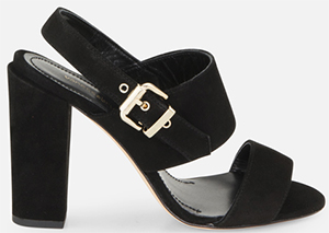 Vanessa Bruno Sueded Leather Sandals: €285.