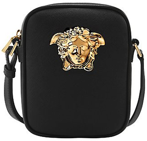 Versace Small Palazzo shoulder men's bag: £640.